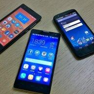 smartfony, telefony komórkowe